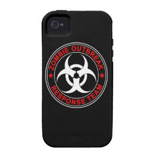 Caminante que caminan del equipo de la respuesta d Case-Mate iPhone 4 carcasa