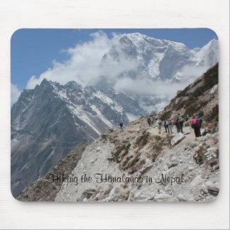 Caminar el Himalaya del Nepali Mousepads
