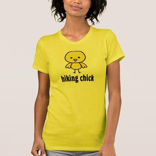 Caminar las camisetas del polluelo