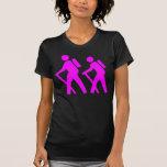Caminar símbolo camiseta