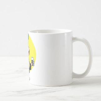 Caminar tiempo taza de café