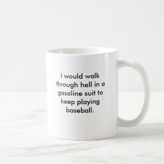 Caminaría con infierno en un juego de la gasolina  tazas de café