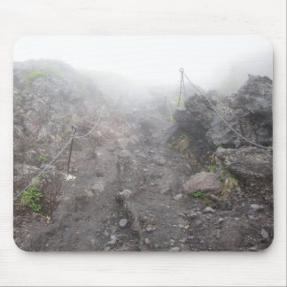 Camine para arriba Mt Fuji Alfombrilla De Ratones