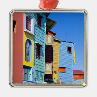 Caminitas La Boca District Metal Ornament