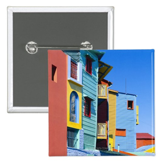 Caminitas La Boca District Pinback Button
