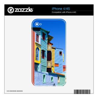 Caminitas La Boca District Decal For The iPhone 4