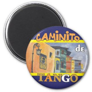 Caminito 2 Inch Round Magnet