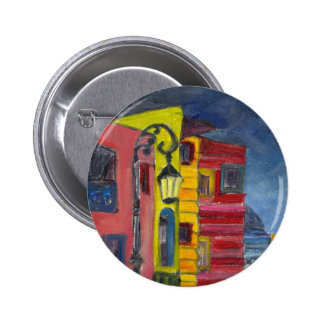 Caminito-La Boca 2 Inch Round Button
