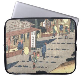 Camino 1838 de Tokaido de la estación de Fujikawa Funda Ordendadores