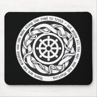 Camino a la rueda de Dharma de la verdad Alfombrilla De Raton