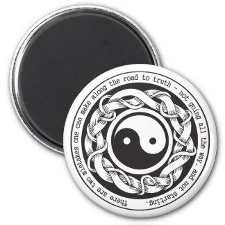 Camino a la verdad Yin Yang Imanes