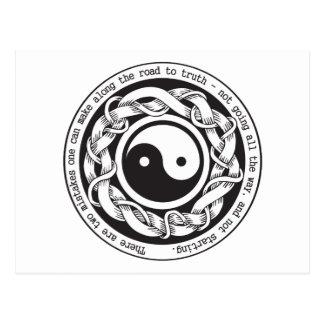 Camino a la verdad Yin Yang Postales