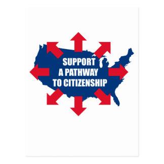 Camino a las postales de la ciudadanía