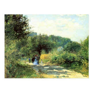 Camino a Louveciennes de Pedro Renoir Tarjeta Postal