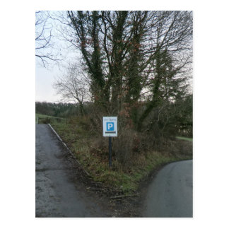 Camino a Sycharth - casero de Owain Glyndwr Tarjetas Postales