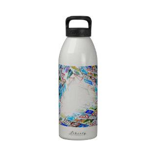 camino botella de agua