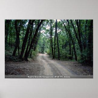 Camino al camping de Granville, de los E.E.U.U. 19 Poster