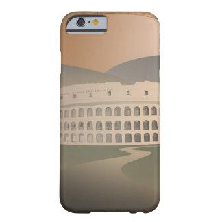 Camino al Colosseum, Roma, Italia Funda Para iPhone 6 Barely There