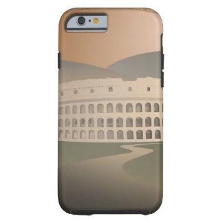Camino al Colosseum, Roma, Italia Funda De iPhone 6 Tough