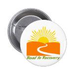 Camino al engranaje de la recuperación pin