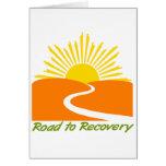Camino al engranaje de la recuperación tarjeta