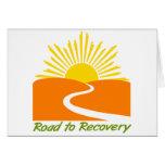 Camino al engranaje de la recuperación tarjeton