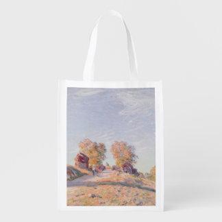Camino ascendente en la sol, 1891 bolsa reutilizable