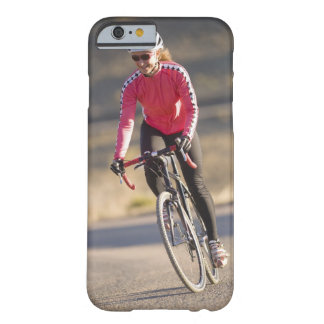Camino biking, Boulder, Colorado del obispo de Funda De iPhone 6 Barely There