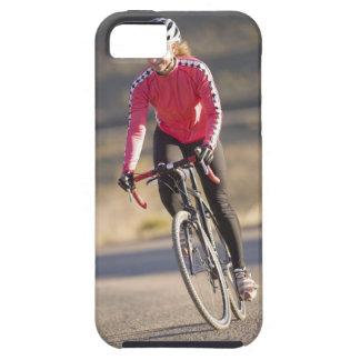 Camino biking, Boulder, Colorado del obispo de Funda Para iPhone 5 Tough