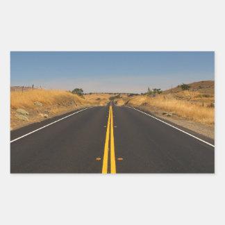 Camino - carretera larga rectangular altavoz