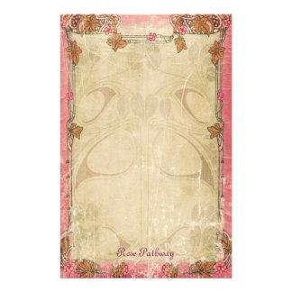Camino color de rosa - efectos de escritorio de papeleria
