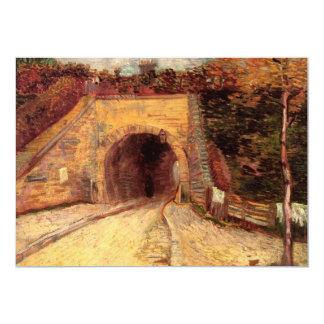 """Camino con el paso inferior el viaducto de Van Invitación 5"""" X 7"""""""
