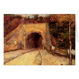 Camino con el paso inferior el viaducto de Van Tarjeta Pequeña