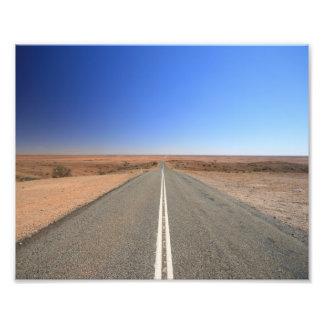Camino de Australia interior - impresión de 10 x 8 Foto