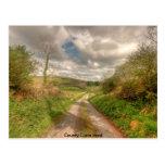 Camino de Clare del condado Postales