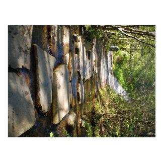 Camino de cobre viejo, Ducktown, río de Tennessee Postal