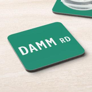 Camino de Damm, placa de calle, indio, los Posavaso