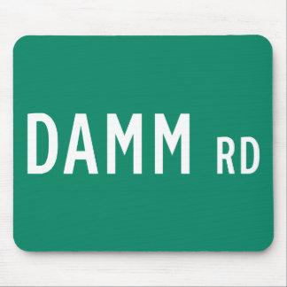 Camino de Damm, placa de calle, indio, los Tapete De Ratones