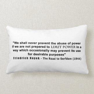 Camino de Friedrich Hayek a la cita del poder del