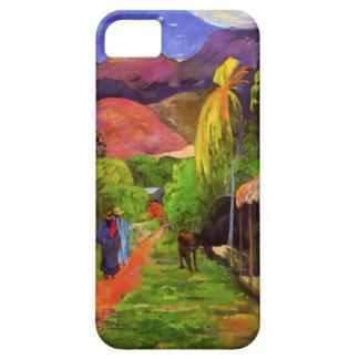 Camino de Gauguin en caso del iPhone 5 de Tahití Funda Para iPhone SE/5/5s