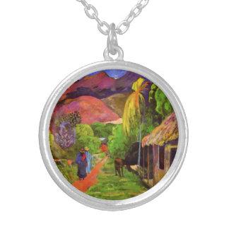 Camino de Gauguin en el collar de Tahití
