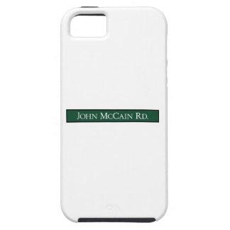 Camino de John McCain, señal de tráfico, Tejas, iPhone 5 Case-Mate Funda