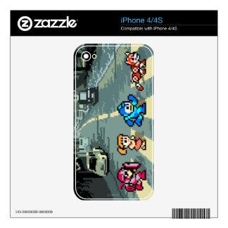 Camino de la abadía de 8 bits skins para eliPhone 4S