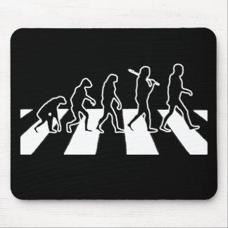 Camino de la abadía de la evolución mousepad