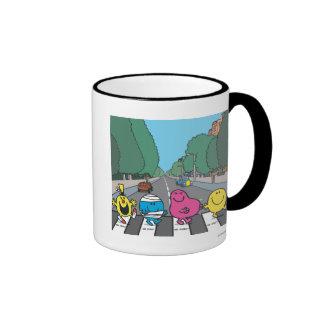 Camino de la abadía tazas de café