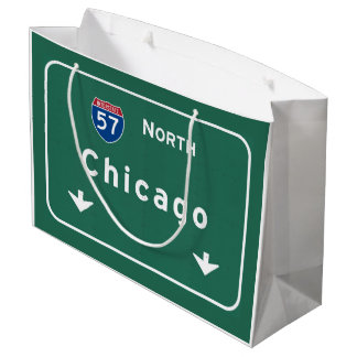 Camino de la autopista sin peaje de la carretera bolsa de regalo grande