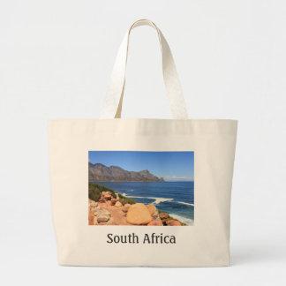 Camino de la costa a Cape Town, Suráfrica Bolsa Tela Grande