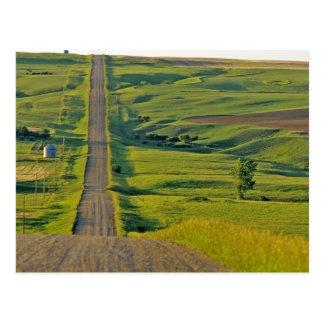 Camino de la grava de Comertown en del noreste Postal