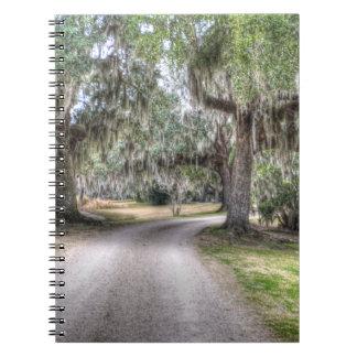 Camino de la isla de Avery Libro De Apuntes