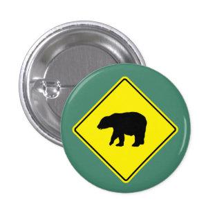 Camino de la travesía del oso - botón pin redondo de 1 pulgada